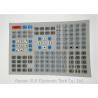 Flate Or Tactile Key Industrial Numeric Keypad / Flexible Waterproof Keyboard Manufactures