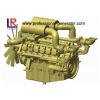 4 Stroke Industrial Diesel Engines for Generator with Electronic Governor , Fan blade Manufactures