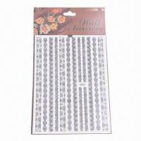 Water-transfer Nail Decals, Nail Tattoo, Safe and Nontoxic Materials Manufactures