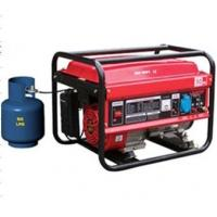 60HZ 6.5KW LPG Gasoline Generator Set LPT7500 Powered By Double Fuel Engine