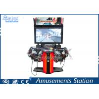 LCD Screen Coin Operated Arcade Machines With Beautiful LED Lighting Manufactures