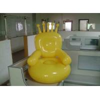 Quality Customized Durable PVC Household Modern Inflatable Furniture Sofa For Adult / Children for sale