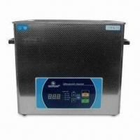 50W Ultrasonic Cleaner with Stainless Steel Exterior, Widely Used in Various Areas Manufactures