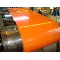 Quality DX51D GB/T12754 z80g/m^2 0.23mm thickness 1150mm width orange Pre painted for sale