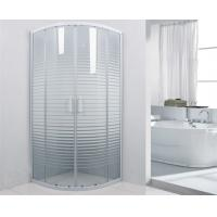White Frame 800 x 800 Shower Enclosure , Corner Shower Units For Small Bathrooms Manufactures