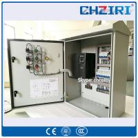 Customized 15KW one-drive-four motors VFD speed control cabinet variable frequency inverter Manufactures