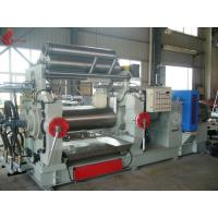 Bored Roll Rubber Two Rollers Mixing Mill , PVC Plastic rolling mill equipment Manufactures