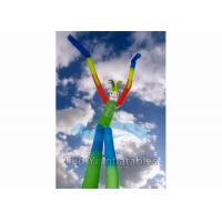 Quality Fire Retardant Double Legs Inflatable Air Dancer With Two Blowers 2 Years for sale