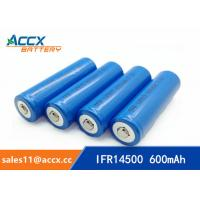 shaver battery lithium ifr14500 3.2v 600mAh AA size Manufactures