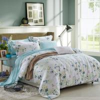 Blue / Grey Home Bedding Comforter Sets Full / King / Queen / Twin Size Manufactures