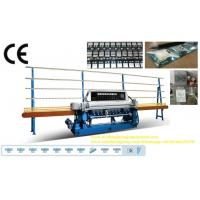 Straight Line Small Glass Beveling Machine Processing Thickness 3 ~ 19mm Manufactures