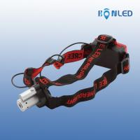 100lm Portable Cree Led Headlight / Headlamp High Brightness For Camping , Aluminum Alloy Manufactures