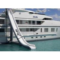 Buy cheap PVC Tarpaulin Giant Airtight Inflatable Yacht  Water Slide Customized from wholesalers