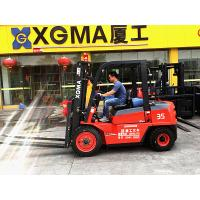 Counterbalance 4WD 3.5 Ton Diesel Forklift Truck Material Handling Equipment Manufactures