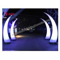 Led Inflatable Cone Entrance Archway Inflatables For Light Art Festival Exhibition Manufactures
