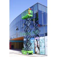 Quality Material handling Self Propelled Scissor Lift hydraulic motor drive max 450kg for sale