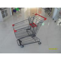 Buy cheap ROHS / UKAS Standard 60 Litre Supermarket Shopping Trolly With Anti UV Plastic from wholesalers