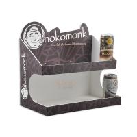 Fashion Food Display Trays More Layer / Acrylic Juice Paper Display Stand Manufactures