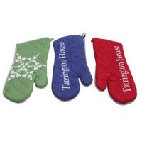 Custom Colors Pot Holder Gloves , Heat Proof Oven Gloves Flexible Operation Manufactures