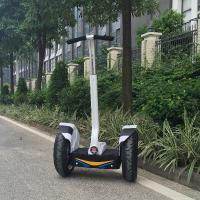 Off-Road Personal Transporter Scooter , Tourist LED Light 2 Wheel Electric Scooter Manufactures