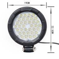 Quality 7.5 Inch High Power 36W Led Work Lights For Trucks Flood beam Led Offroad Lights for sale