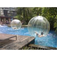 PVC Inflatable Walking Ball Person Inside , Blow Up Walk on Water Ball Manufactures