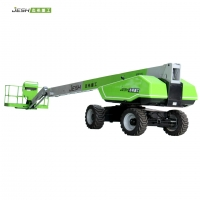 Self propelled Telescopic boom lift Platform with lifting Height 88ft,360kg load capacity for construction Manufactures