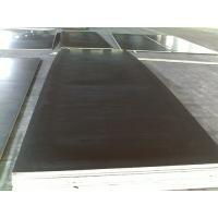 China Waterproof black film faced plywood / construction shuttering plywood 1220 x 2440 x 18 mm on sale