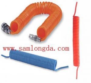 Polyurethane Spiral coil tube, high pressure pu hose Manufactures