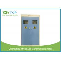 Steel Chemical Laboratory Storage Cabinet / Double Gas Cylinder Safety Cabinets Manufactures