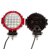 "63W 7"" Spot LED Work Light 6000K Driving for ATV Jeep Wrangler Car SUV Offroad Pickup 4WD Boat ATV Manufactures"