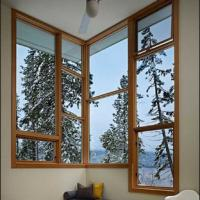 White/Grey/Grown/Black/Wooden Color Fixed Aluminum Window Manufactures