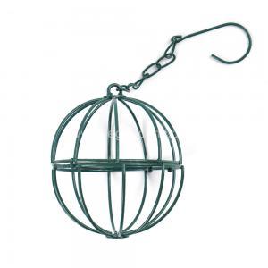 Backyard Spherical Bird Feeder , Environment Friendly Steel Bird Feeder Manufactures