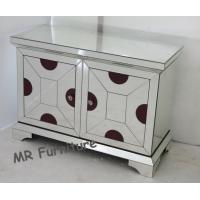 Customized Size Mirrored Side Board Metal Hinge Material Beveled Clear Mirror Manufactures