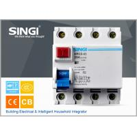 Electrical Residual Current Circuit Breaker for home , mini circuit breaker Manufactures