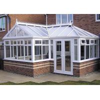 Buy cheap Powder Coating High End Greenhouses , White Aluminum Frame Greenhouse from wholesalers