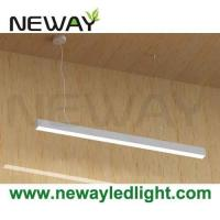 24W-60W Suspension Linear LED Light Bar / LED Hanging Linear Lighting Manufactures