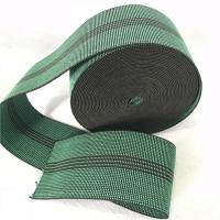 Durable Synthetic Rubber Elastic Webbing For Sofa In Green Color 6cm 460B# Manufactures