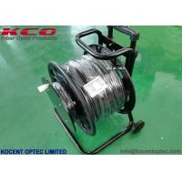 1Km 10G 40G Armored Fiber Optic Cable 2fo 4fo TPU Field Operating Tactical Military Cable Reel Manufactures
