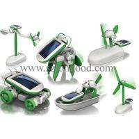 Buy cheap 6 in 1 Educational Solar Robot Kit toy from wholesalers