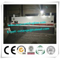 QC11Y-16x8000 Hydraulic Guillotine Shearing Machine For Q235A Steel Sheet Manufactures