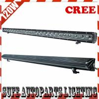 39'' 10800lum 5W*24PCS CREE LED 120W LED Light Bar Offroad Track led work light bar Manufactures