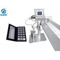 Cosmetic Eyeshadow Power Case Gluing Machine With Touch Screen 0.75KW Power Manufactures