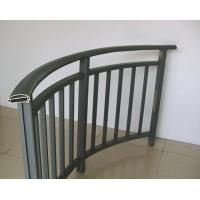 Powder Painted Aluminum Hand Railings / Balustrade For Buildings Manufactures