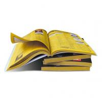 China Wholesale cheap yellow page books, high quality yellow page book printing, Magazine printing, perfect bound book print on sale