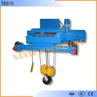 Double Girder Electric Wire Rope Hoist Winch Trolley for Chemical Industry Manufactures