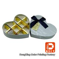 Chocolate Biodegradable Cardboard Food Packaging Boxes Handmade Heart Shaped CMYK Printing Manufactures
