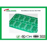 RoHS Single Layer Custom Printed Circuit Board  FR4 Lead Free HASL IPC Standard Manufactures