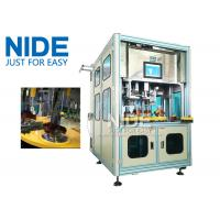 Efficent Automatic Coil Winding Machine / Wire Coil Inserting Machine Four Working Station Manufactures