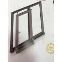Thermal Break Tilt and Sliding Aluminium Window Profiles with Brown Color Manufactures
